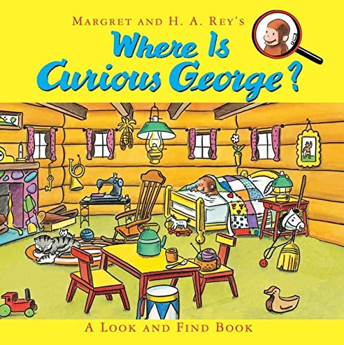 9780547914169: Where Is Curious George?: A Look and Find Book