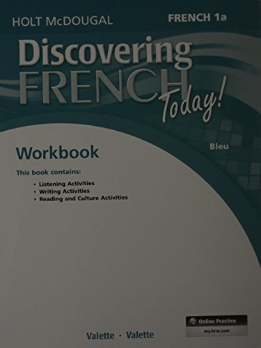 9780547914411: Discovering French Today: Student Edition Workbook Level 1A (French Edition)