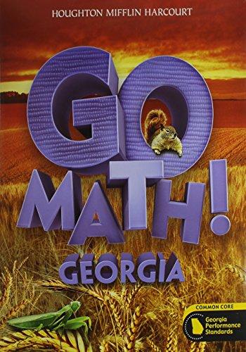 9780547940205: Houghton Mifflin Harcourt Go Math! Georgia: Student Edition & Practice Book Bundle, 1 Year Grade 2 2014