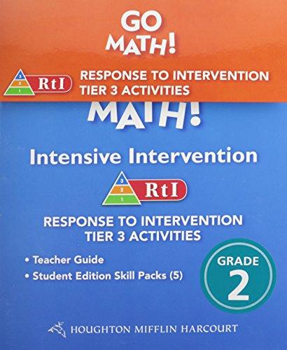 9780547940687: Go Math!: RTI Intensive Intervention Kit Grade 2