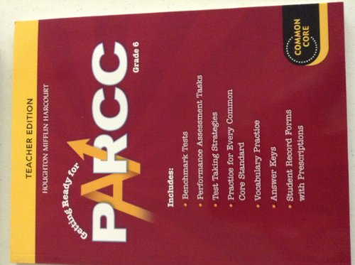 9780547945019: Go Math!: PARCC Test Prep Teacher Edition Grade 6