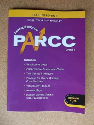 9780547945033: Go Math!: PARCC Test Prep Teacher Edition Grade 3