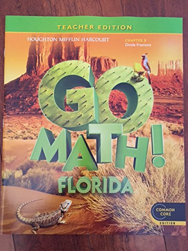 9780547950228: Houghton Mifflin Harcourt Go Math Florida: Teacher Edition Chapter Book Grade 5 Chapter 8