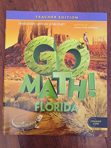 9780547950242: Houghton Mifflin Harcourt Go Math Florida: Teacher Edition Chapter Book Grade 5 Chapter 10