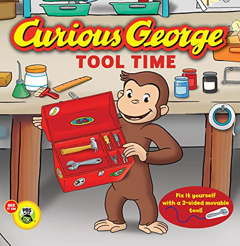 9780547968186: Curious George: Tool Time