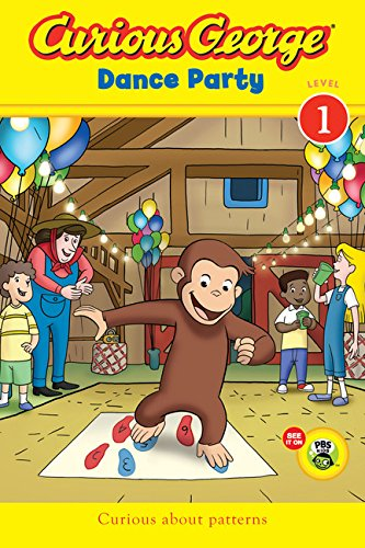 9780547968193: Curious George Dance Party CGTV Reader