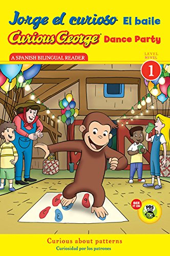 9780547968216: Jorge el curioso El baile/Curious George Dance Party (CGTV Reader) (Spanish and English Edition)
