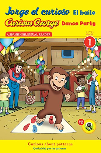 9780547968223: Jorge el curioso El baile/Curious George Dance Party (CGTV Reader) (Spanish and English Edition)