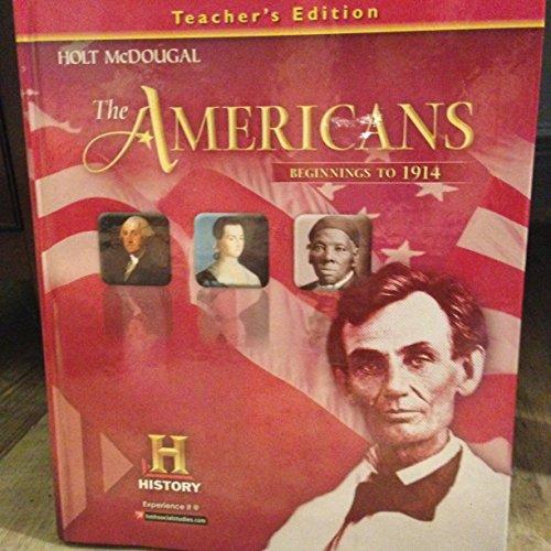 9780547968414: Holt McDougal The Americans: Teacher's Edition 2014