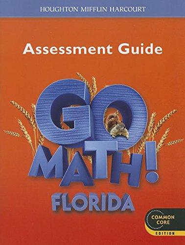 9780547969763: Houghton Mifflin Harcourt Go Math! Florida: Assessment Guide Grade 2