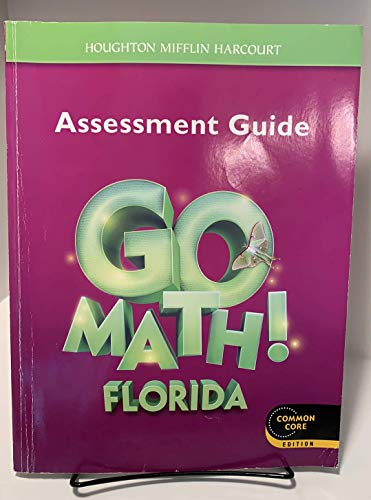 9780547969787: Houghton Mifflin Harcourt Go Math! Florida: Assessment Guide Grade 3