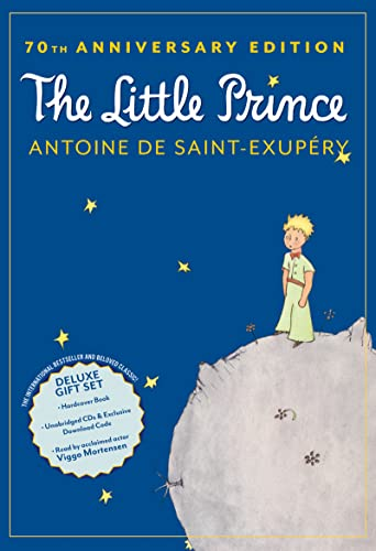 9780547970486: The Little Prince 70th Anniversary Gift Set (Book/CD/Downloadable Audio)