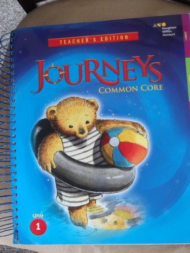 9780547975092: Houghton Mifflin Harcourt Journeys: Teacher's Edition Volume 1 Grade K 2014