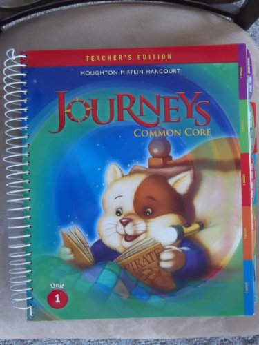 9780547975405: Houghton Mifflin Harcourt Journeys: Teacher's Edition Volume 1 Grade 1 2014