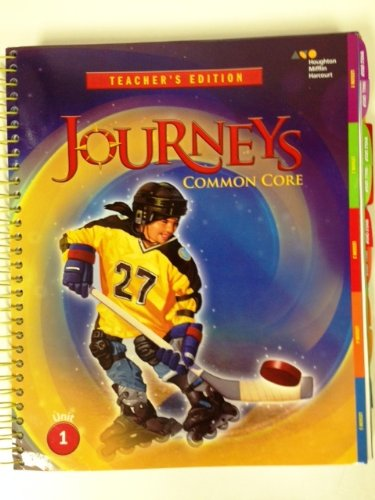 9780547975764: Journeys: Teacher's Edition Volume 1 Grade 5 2014