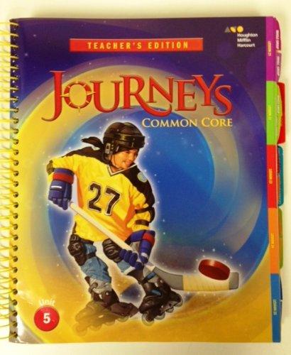 Houghton Mifflin Harcourt Journeys: Teacher's Edition Volume 5 Grade 5 2014: HARCOURT, ...