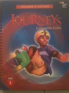 9780547975825: Houghton Mifflin Harcourt Journeys: Teacher's Edition Volume 1 Grade 6 2014
