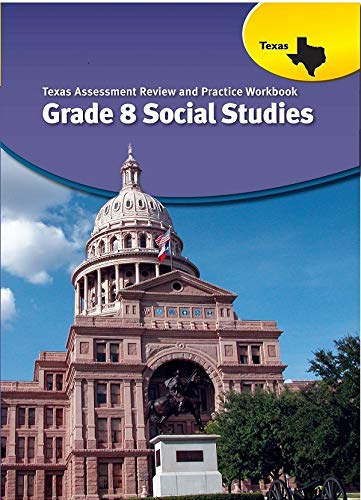 9780547989044: United States History Texas: Assessment Review and Practice Grade 8 Social Studies