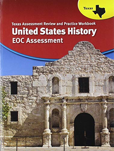 9780547989747: The Americans Texas: Assessment Review & Practice Workbook United States History Since 1877