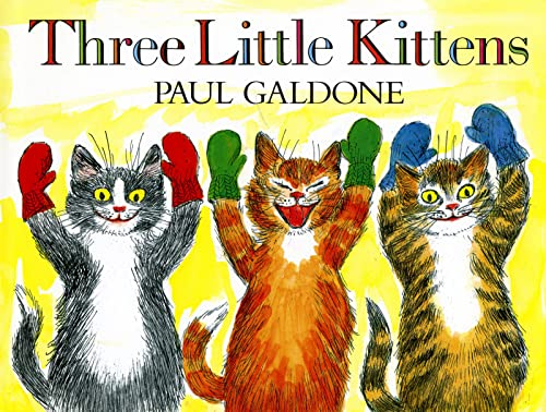 9780547994802: Three Little Kittens (Paul Galdone Classics)