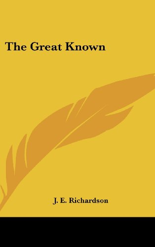 9780548004227: The Great Known