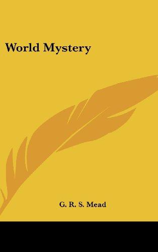 9780548010686: World Mystery