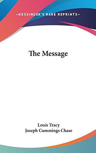 9780548029565: The Message