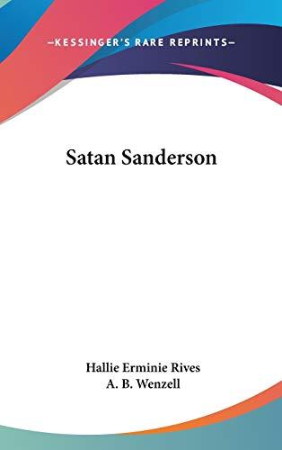 9780548029633: Satan Sanderson