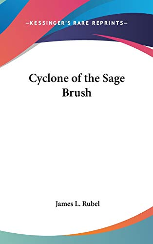 9780548059678: Cyclone of the Sage Brush