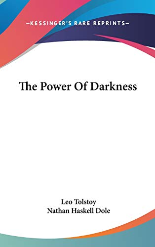 9780548078846: The Power of Darkness