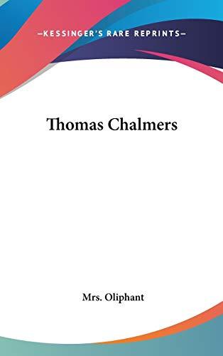 9780548096284: Thomas Chalmers