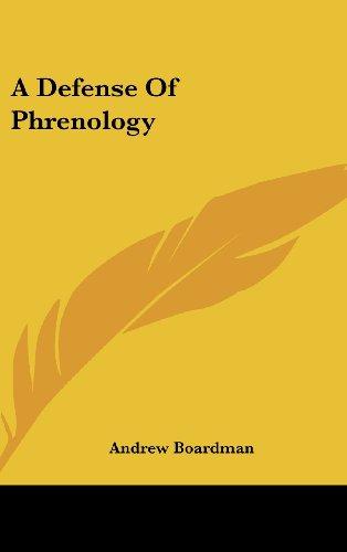9780548101476: A Defense of Phrenology