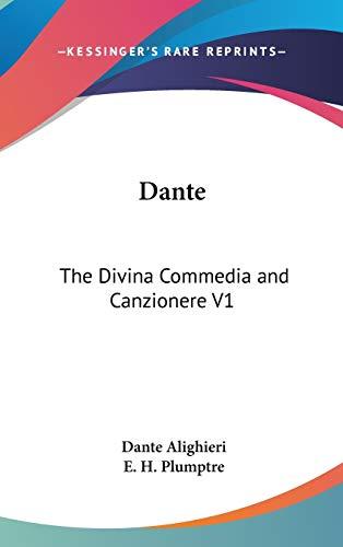 9780548119693: Dante: The Divina Commedia and Canzionere V1