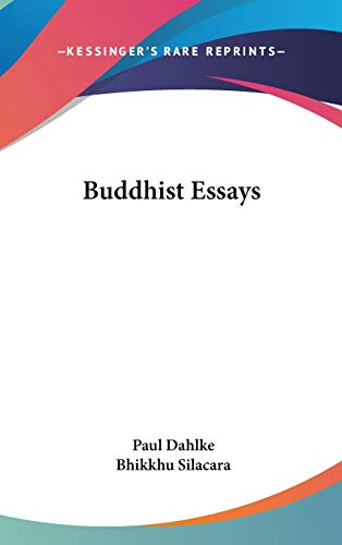 9780548126738: Buddhist Essays
