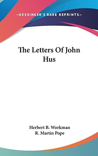 9780548128671: The Letters Of John Hus