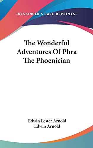 9780548133200: The Wonderful Adventures Of Phra The Phoenician