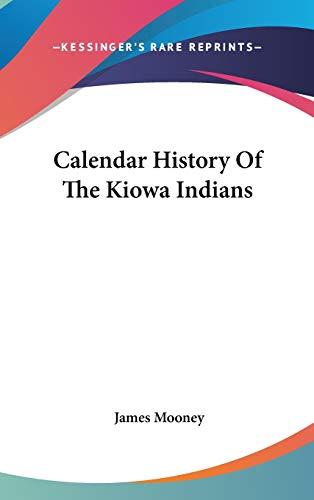 9780548136461: Calendar History Of The Kiowa Indians