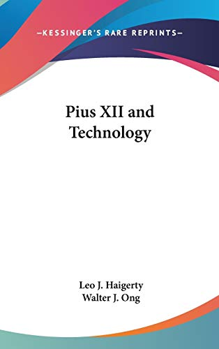 9780548141816: Pius XII and Technology