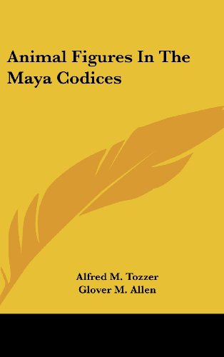 9780548164150: Animal Figures In The Maya Codices