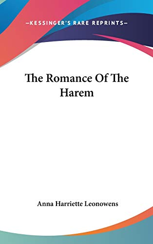 9780548188262: The Romance Of The Harem