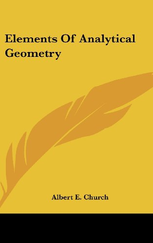 9780548190739: Elements Of Analytical Geometry