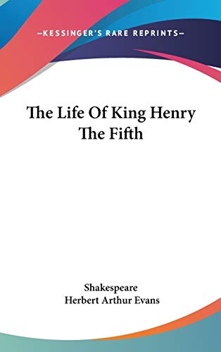 9780548208960: The Life Of King Henry The Fifth