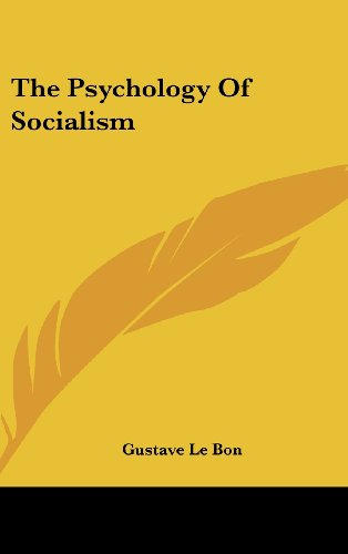 9780548209677: The Psychology Of Socialism