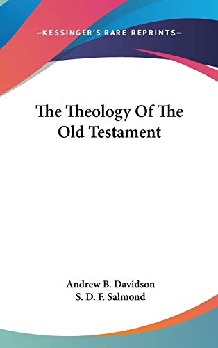 9780548257111: The Theology Of The Old Testament