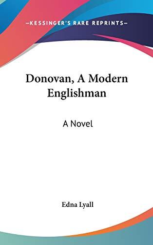 9780548258507: Donovan, A Modern Englishman: A Novel