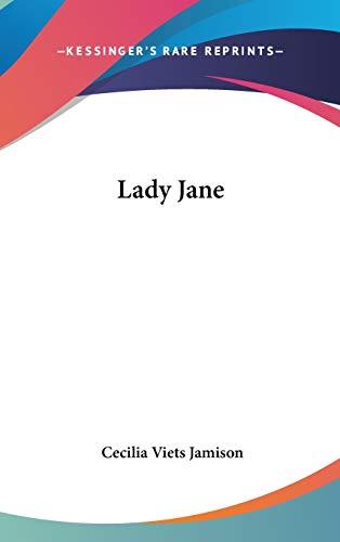 9780548260678: Lady Jane