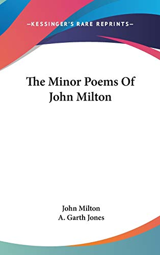 9780548346594: The Minor Poems Of John Milton
