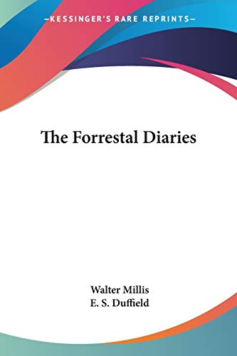 9780548386071: The Forrestal Diaries