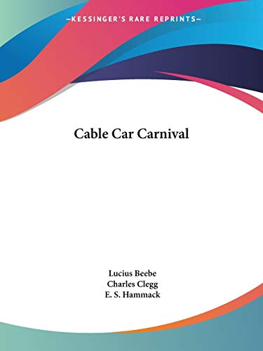9780548386842: Cable Car Carnival