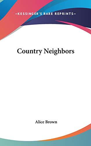 9780548417546: Country Neighbors